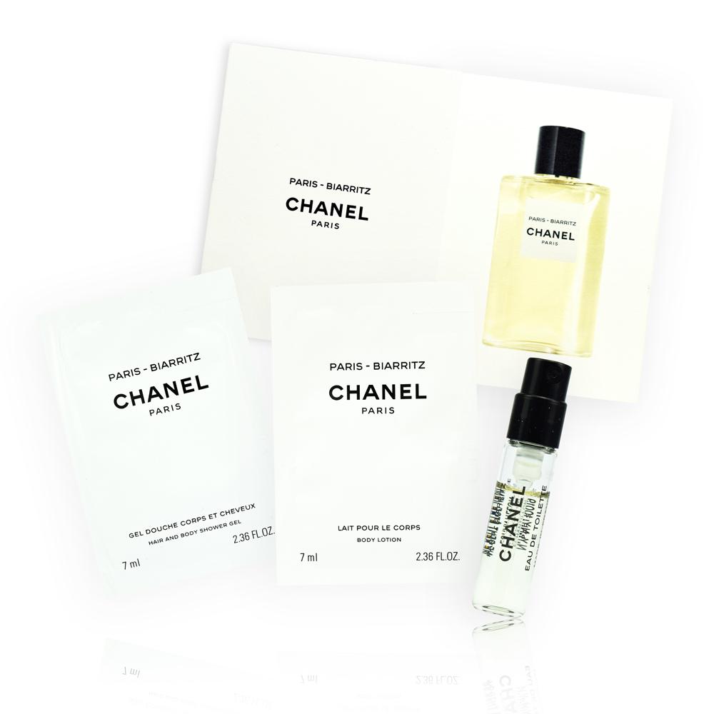 (即期品)CHANEL 香奈兒 LES EAUX 香奈兒淡香水系列 巴黎-比亞里茲香氛層疊組