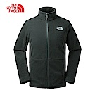 The North Face北面男款黑色針織上衣|CTT7KX7
