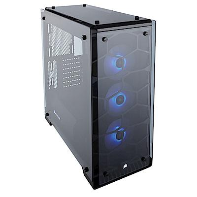 CORSAIR Crystal系列 570X RGB電腦機殼-黑