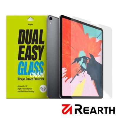 Rearth Apple iPad Pro 2018 (12.9寸)滿版抗衝擊螢幕保護貼
