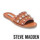 STEVE MADDEN-REGENT-鑲嵌鑽飾一字拖-棕色