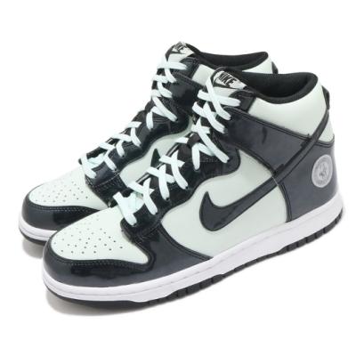 Nike 休閒鞋 Dunk High SE 女鞋 基本款 明星賽 質感 球鞋 穿搭 綠 黑 DD1846300