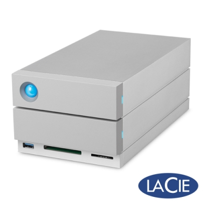 LaCie 2big Dock Thunderbolt3 8TB 外接硬碟