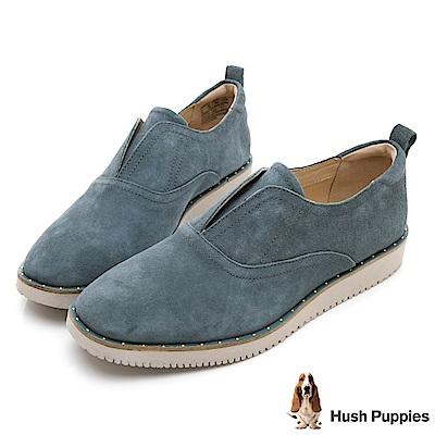 Hush Puppies CHOWCHOW 防潑水輕量休閒鞋-湖藍