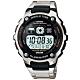 CASIO 卡西歐 10年電力金屬風計時手錶-銀 AE-2000WD-1A product thumbnail 1
