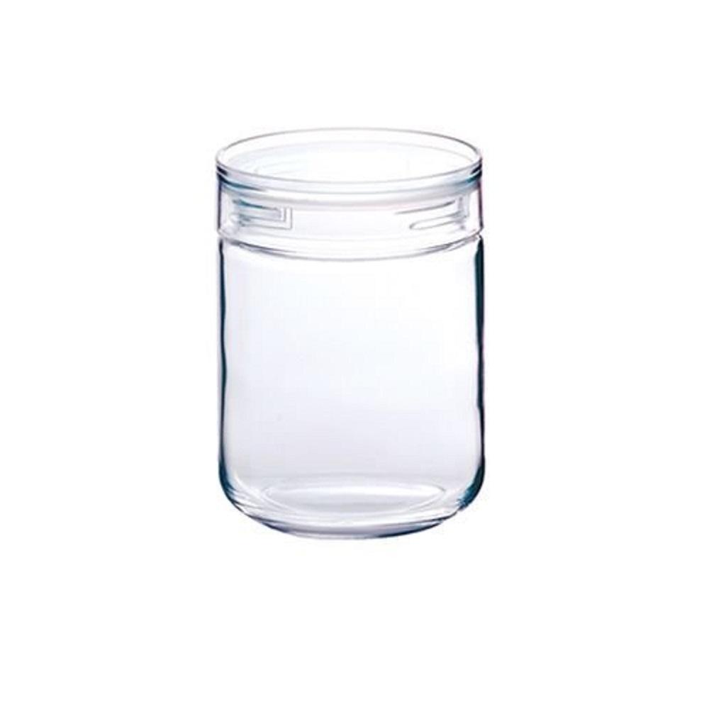 日本 星硝Cellarmate洽米長型透明玻璃保存瓶S 420ml
