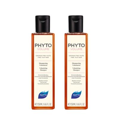 PHYTO髮朵 豐盈蓬鬆能量洗髮精(250ml) 2入組