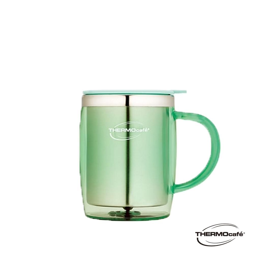 THERMOcafe凱菲 不鏽鋼真空隔溫杯0.35L(DOM-350SH-LGR)