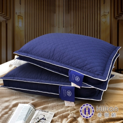 買一送一  Hilton 希爾頓 VIP貴賓 純棉立體銀離子抑菌獨立筒枕