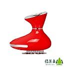 【倍麗森Beroso】IPS微電按摩美體鋼刷設計機款(BE-A00006-R1)-艷麗紅