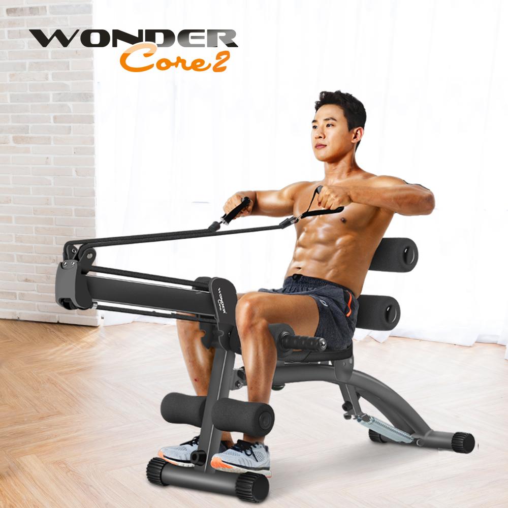 Wonder Core 2 全能塑體健身機 (強化升級版)-暗黑新色
