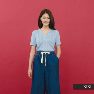 【KiKi】經典百搭素面-針織衫(三色)