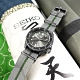 SEIKO 精工 限量款 5 Sports 機械錶 火影忍者 鹿丸 尼龍帆布手錶-灰綠色/41mm product thumbnail 1