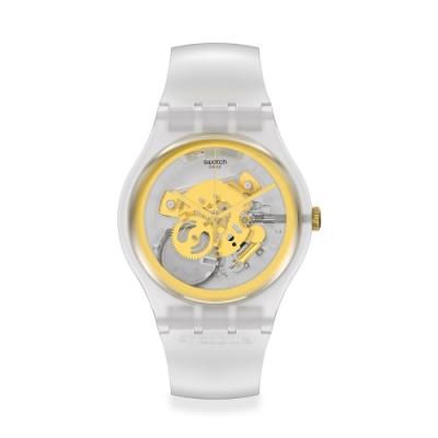 SWATCH New Gent 原創系列手錶MY TIME 黃金年代(41mm)