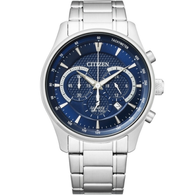 CITIZEN 星辰 極速時空計時腕錶(AN8190-51L)42mm