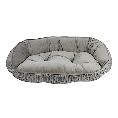 BOWSERS半月極適寵物睡床-咖啡歐雷XL