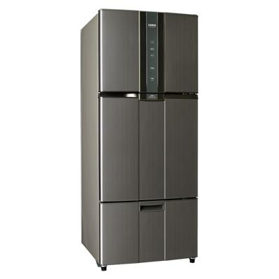 福利品 SAMPO聲寶 530L 2級變頻3門電冰箱 SR-A53DV(K2) 石墨銀