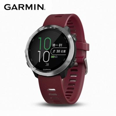 GARMIN Forerunner 645 Music GPS智慧心率音樂跑錶 紅