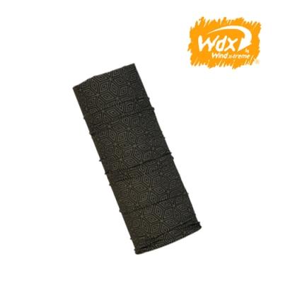 Wind x-treme 美麗諾羊毛保暖多功能頭巾 5001 深卡其(透氣、圍領巾、西班牙)