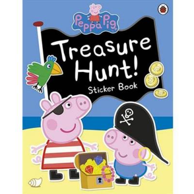 Treasure Hunt! Sticker Book 佩佩豬的海盜冒險貼紙故事書