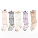 JoyNa超薄鬆口鏤空中高筒兒童襪 洞洞防蚊襪-4件入
