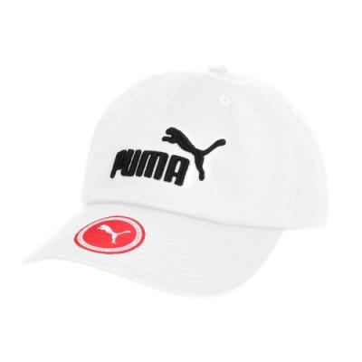 PUMA 基本系列棒球帽-鴨舌帽 帽子 遮陽 防曬 05291910 白黑