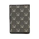 PLAYBOY- 護照夾  Formula 6.9系列 -灰綠色