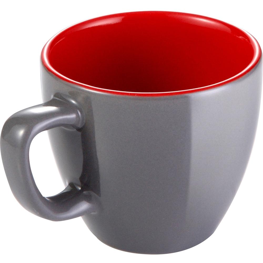《TESCOMA》濃縮咖啡杯(灰紅80ml)