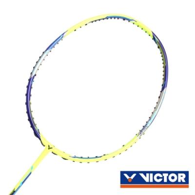 VICTOR 極速球拍-4U 螢光黃丈青