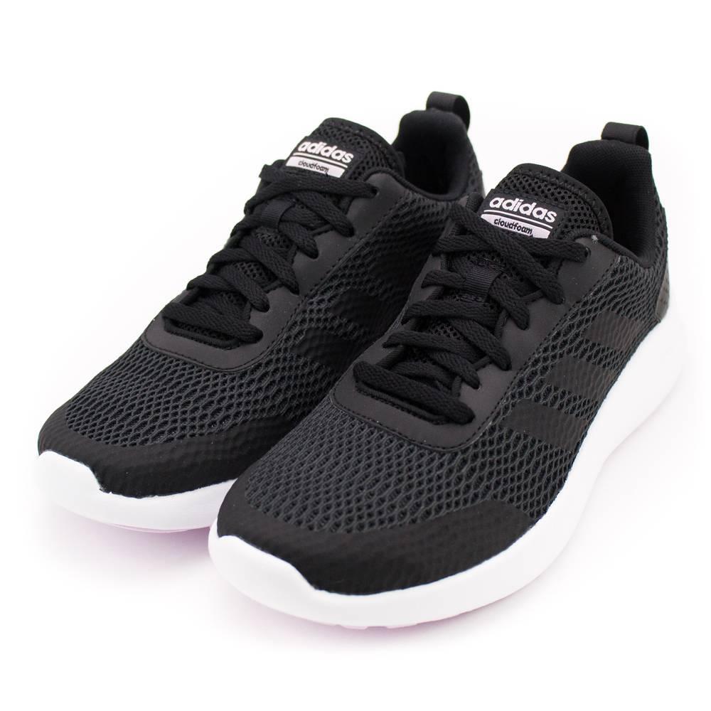 ADIDAS--ELEMENT RACE 女慢跑鞋-黑