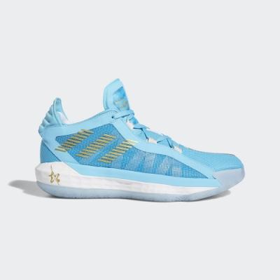 ADIDAS 三國 五虎將 錦馬超 包覆 緩震 運動 籃球鞋 男鞋 藍 FW3658 DAME 6