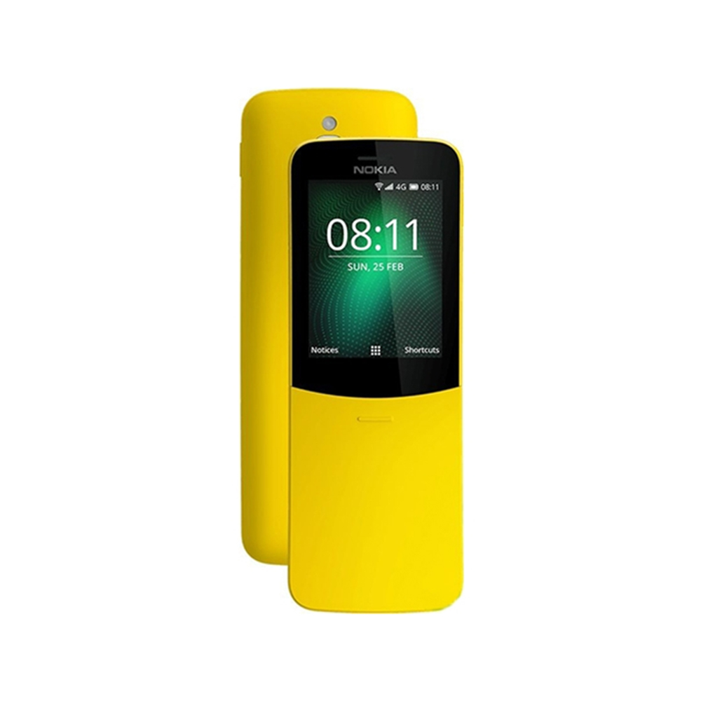 NOKIA 8110 香蕉機直立式4G滑蓋手機