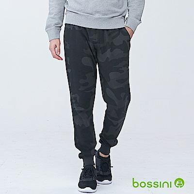 bossini男裝-休閒針織長褲02霧灰