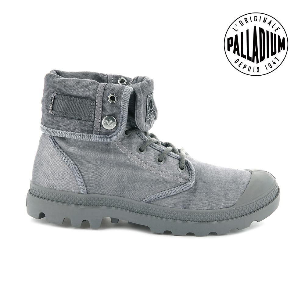 Palladium  BAGGY TC 2.0帆布靴-女-灰