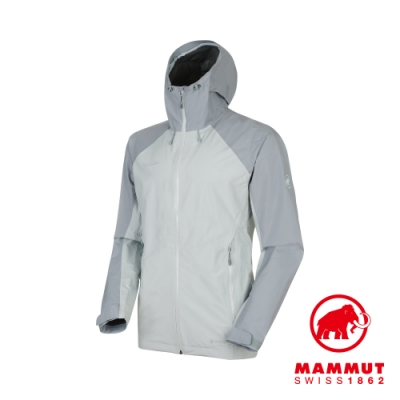 【Mammut 長毛象】Convey GTX 連帽外套 灰/灰 男款#1010-26032