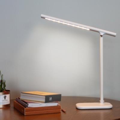 磁吸燈條USB充電式 折疊觸控LED桌燈/閱讀檯燈
