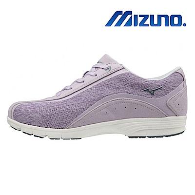MIZUNO 美津濃 LS802 寬楦 女 健走鞋 淺紫 B1GF193264