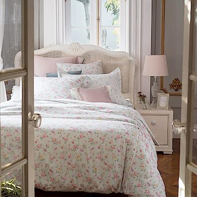 BBL Premium 愛麗絲100%精梳棉印花兩用被床包組(特大)