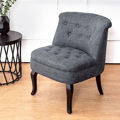 Bernice-威斯頓美式復古風布沙發單人座椅