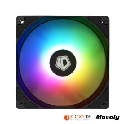 ID-COOLING 同步主板燈光 XF-12025-ARGB 高效散熱風扇