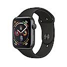 Apple Watch Series 4 LTE 44mm 太空灰鋁金屬錶殼黑色運動型錶帶