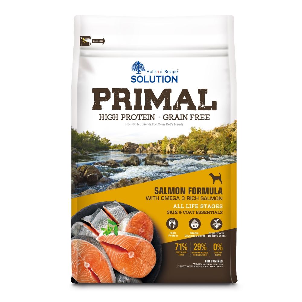 耐吉斯 源野高蛋白 無穀全齡犬 鮭魚配方 6磅