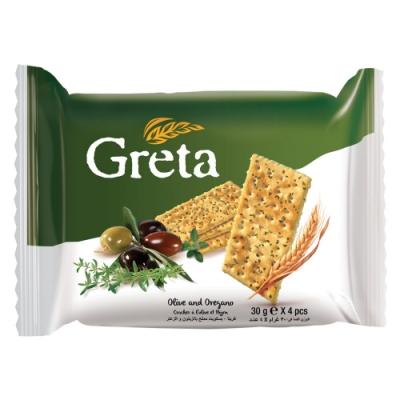 GRETA 橄欖&奧勒岡草風味餅乾(120g)