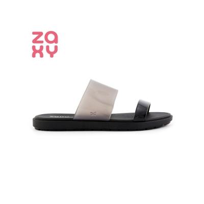 ZAXY Snap系列 半透明拖鞋-黑
