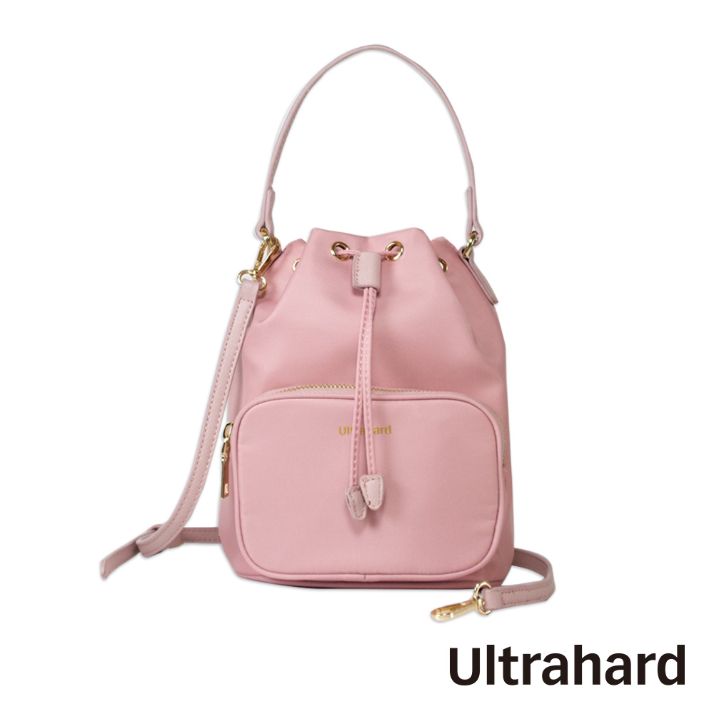 Ultrahard City Travel 三用水桶包(櫻花粉)