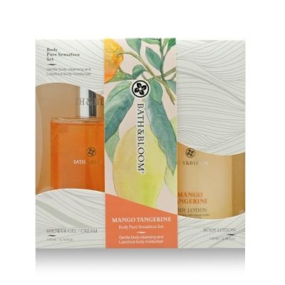 Bath & Bloom 芒果柑橘沐浴潤膚禮盒組170mlx2