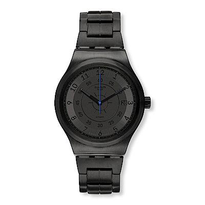Swatch 51號星球機械錶 SISTEM DARK 神秘黑夜手錶