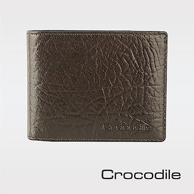 Crocodile牛頸紋系列短夾-零錢袋款0103-08905