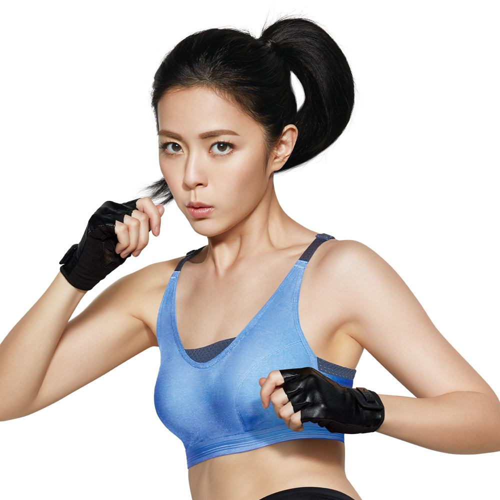 蕾黛絲-LadieSport好運動Level3釋壓背心(大罩杯)EQ-EQL好動藍