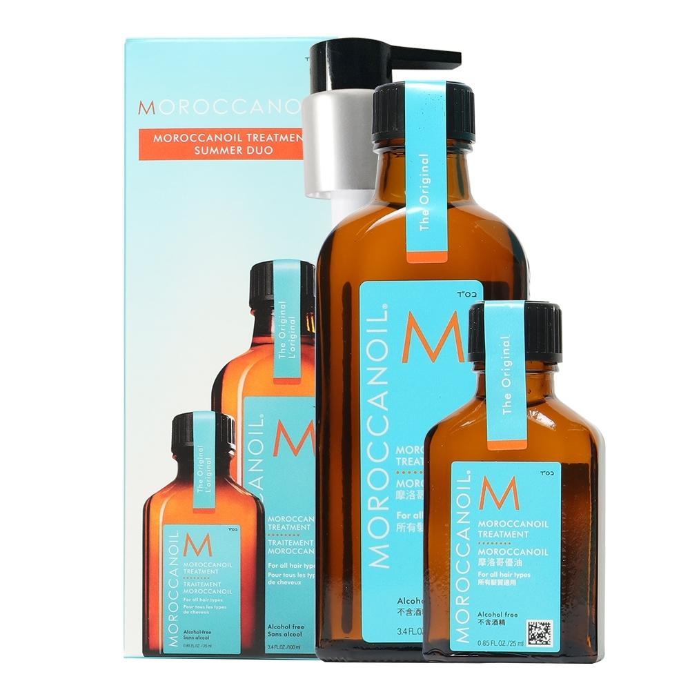 MOROCCANOIL 摩洛哥優油 優油買大送小禮盒組(100ml+25ml)